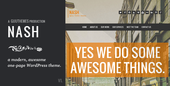Nash WordPress Theme