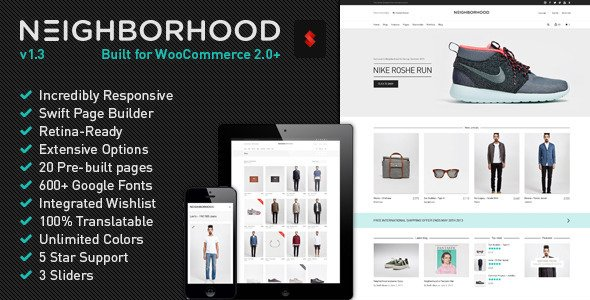 Neighborhood WordPress Theme