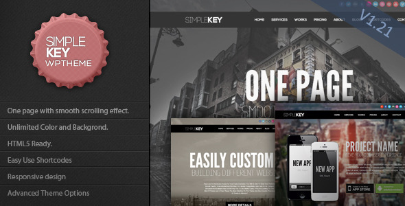 SimpleKey WordPress Theme