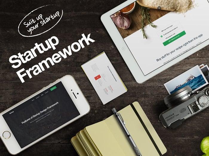 Startup Framework – Advanced Website Builder for Professionals