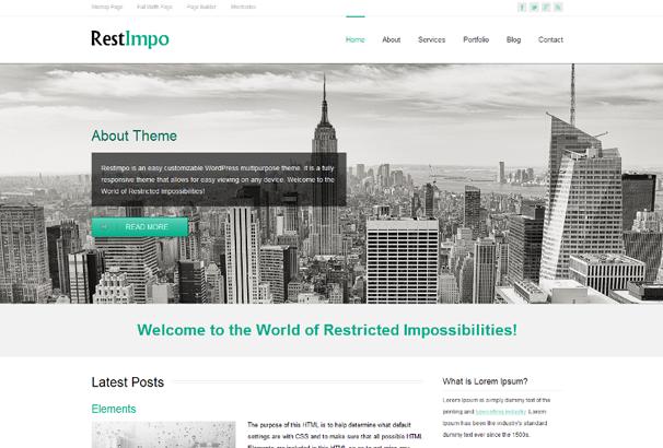 RestImpo Free WordPress Themes