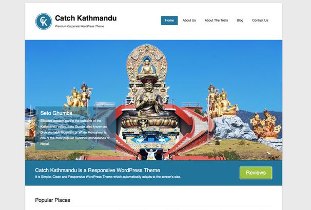 Catch Kathmandu Free WordPress Themes