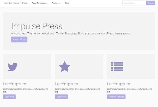Impulse Press WordPress Themes