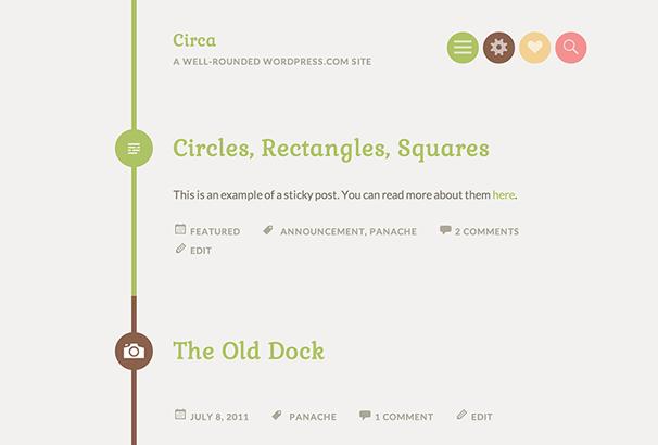 Circa Free WordPress Themes
