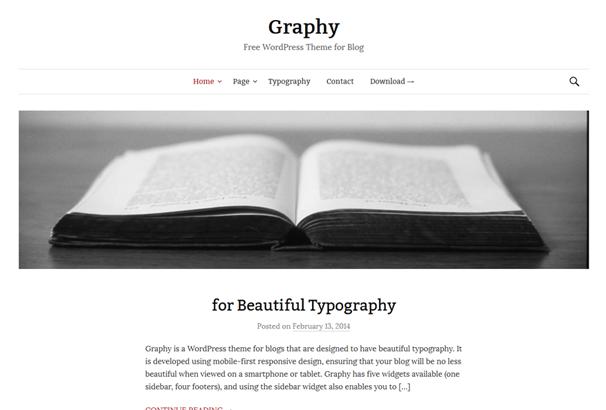 Graphy WordPress Themes