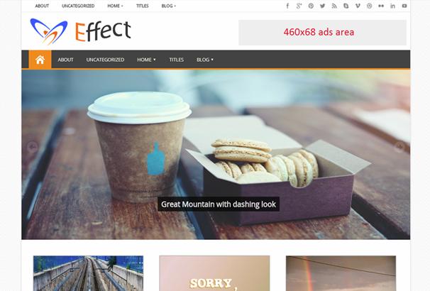 Effect Free WordPress Themes
