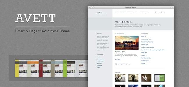 Avett WordPress Themes