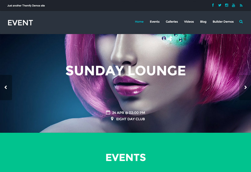 Event - Popular Premium WordPress Themes