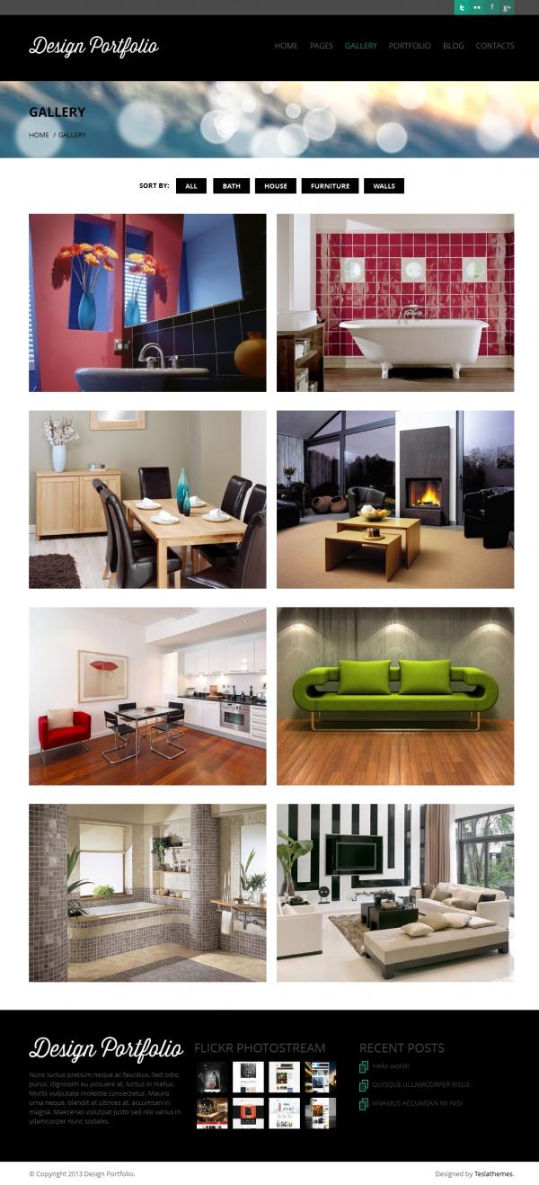 Design Portfolio Best Creative WordPress Themes June