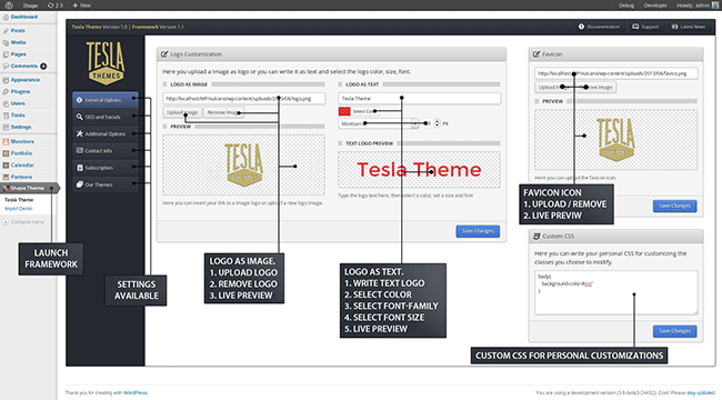 Premium WordPress Tesla Themes