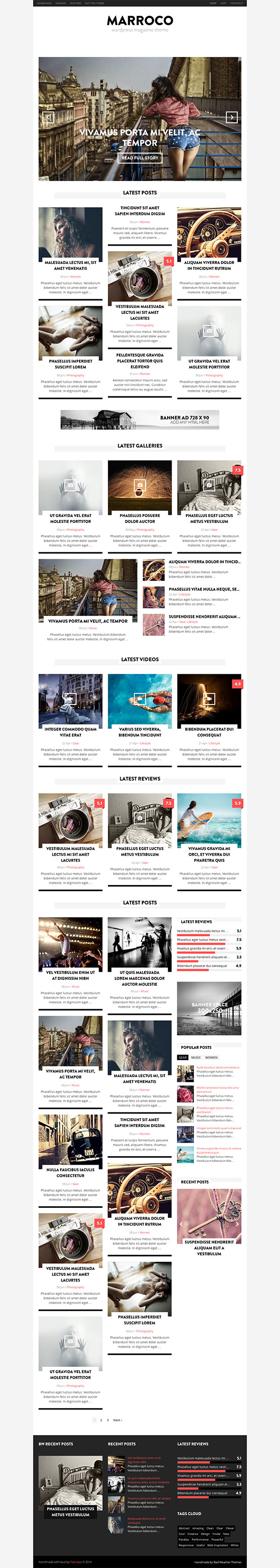Marroco-WordPress-Theme
