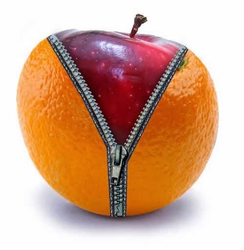 How To Create An Apple Zipped In an Orange
