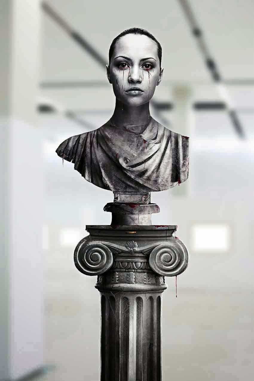Portrait Tutorial – Create a Greek Statue