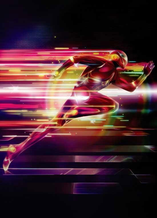 Photoshop tutorial: Create a glowing superhero
