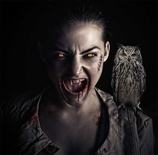 Vampire Effect in Photoshop