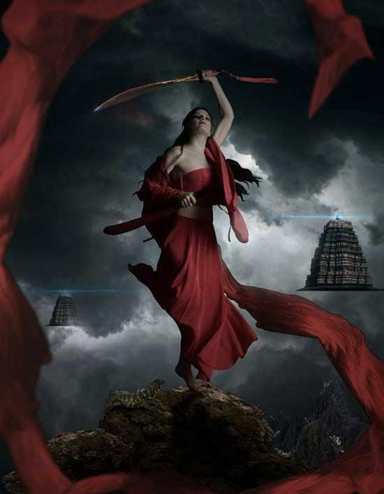 Photo Manipulate a Mystical Warrior Scene