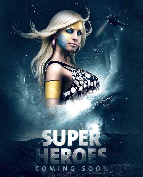 Making A Superhero Movie Teaser Poster