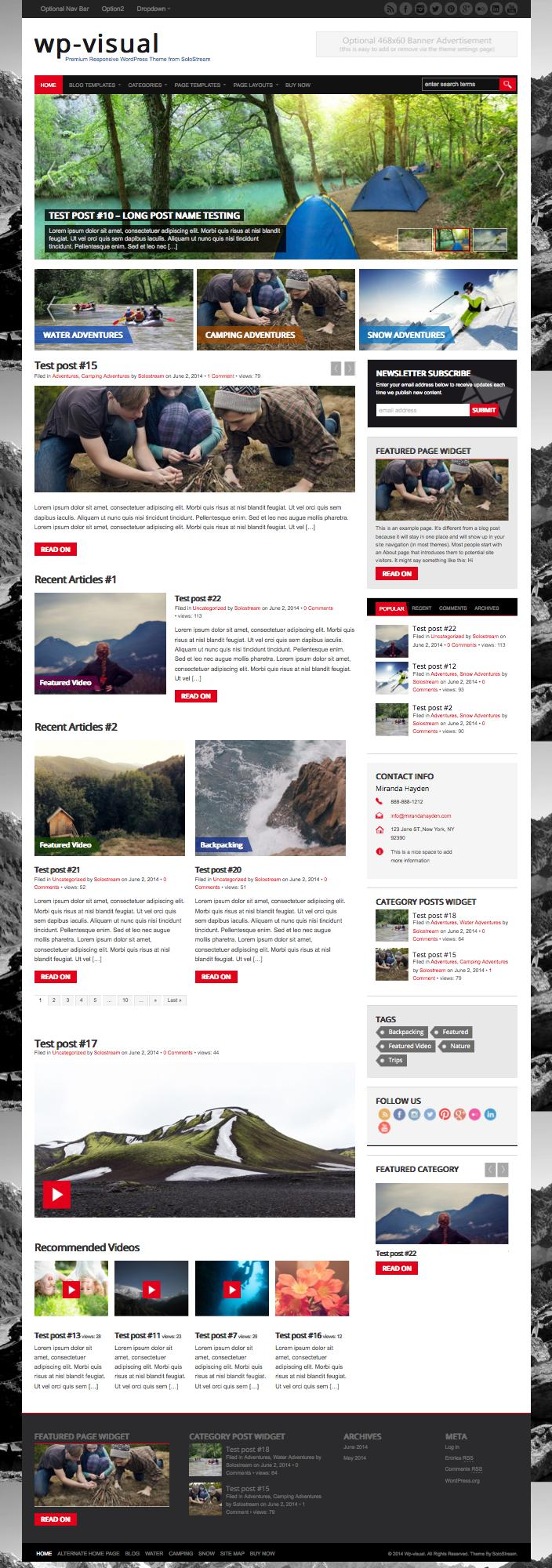 WP-Visual-Newspaper-Theme