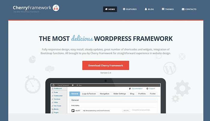 Cherryframework WordPress Theme Frameworks