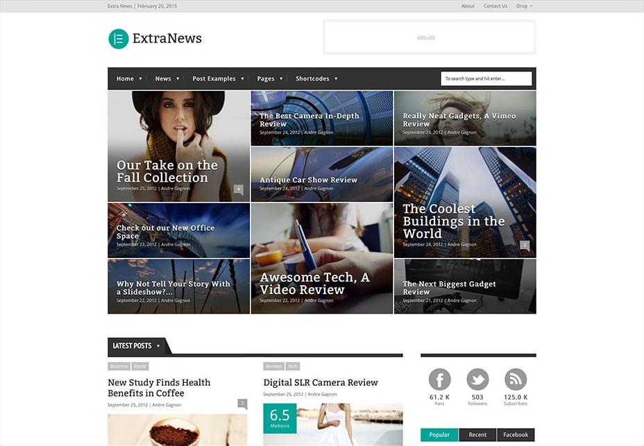 Extranews - WordPress Review Themes
