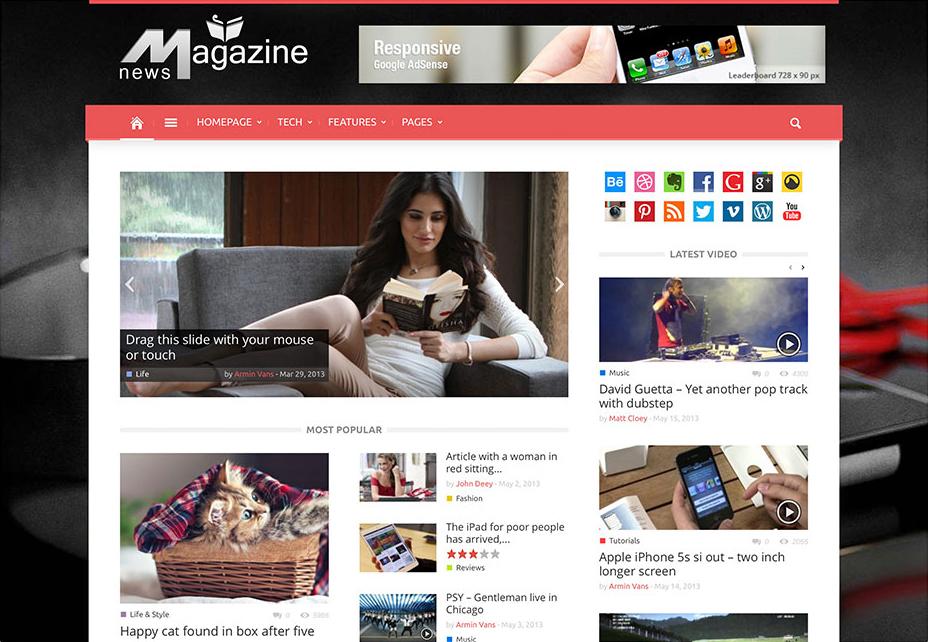 Magazin - WordPress Review Themes
