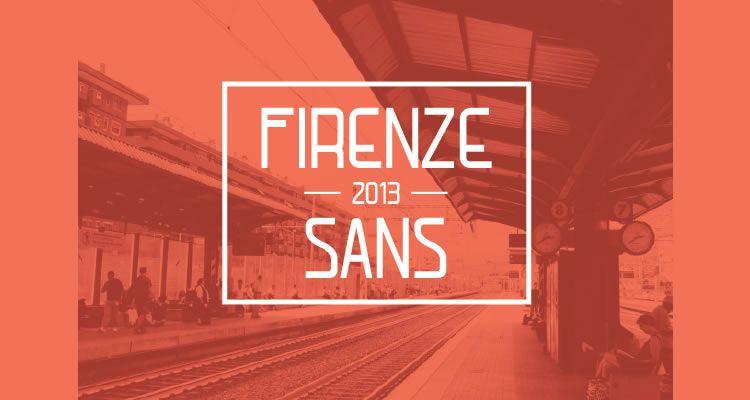 headline font free Firenze Sans