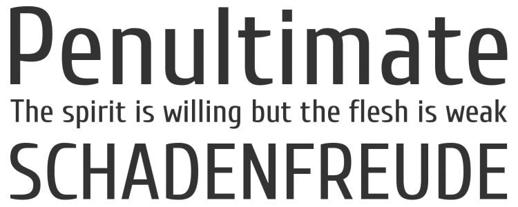 Cuprum free font