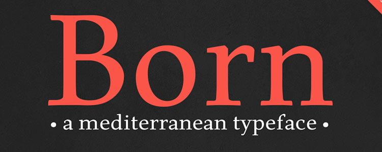 Born Free free font