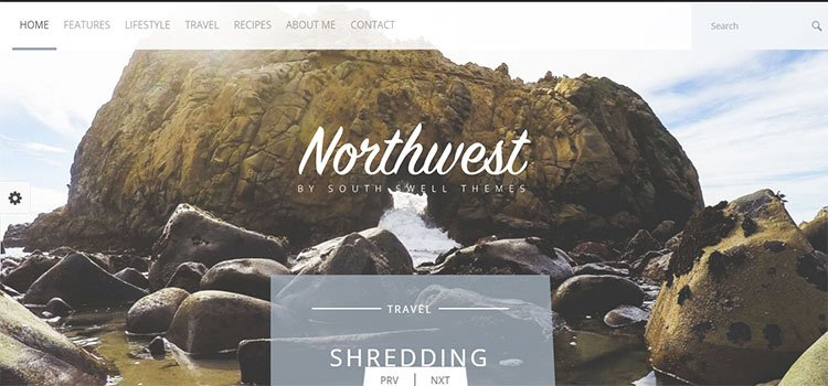 NorthWest – A Simple Blog HTML Template