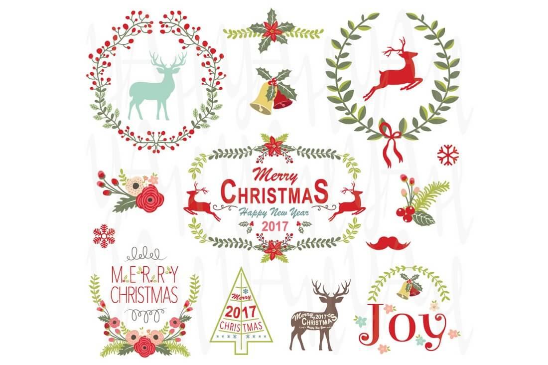 christmas-wreath-frame-collection