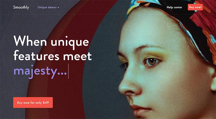 Smoothly - Portfolio WordPress Theme for Creative Professionals