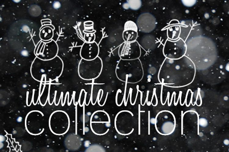 91 Christmas Brush Collection free holidays