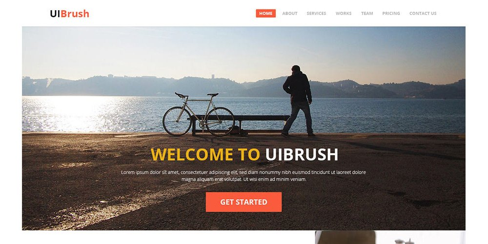 free-one-page-psd-template