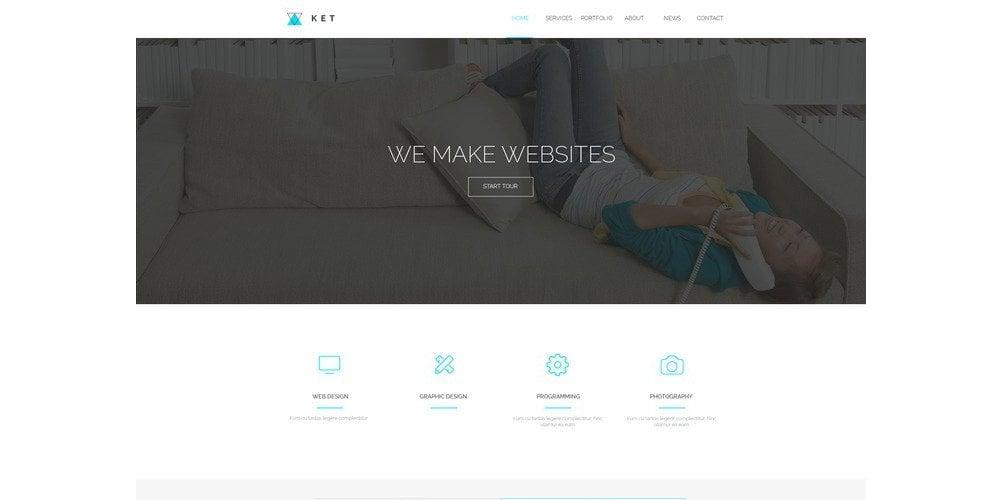 Ket-Single-Page-PSD-Web-Template