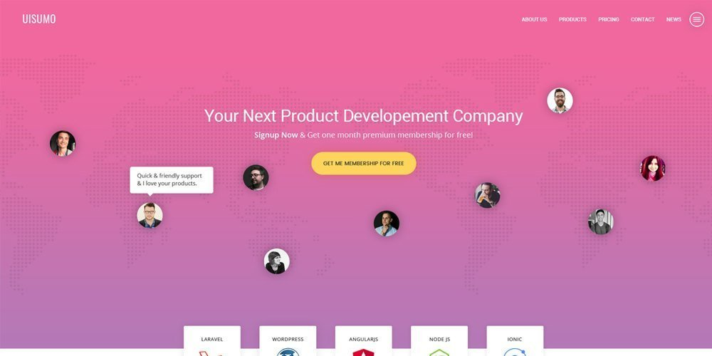 SuMo-Single-Page-Web-Template