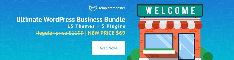 WordPress Business Bundle by Template Monster