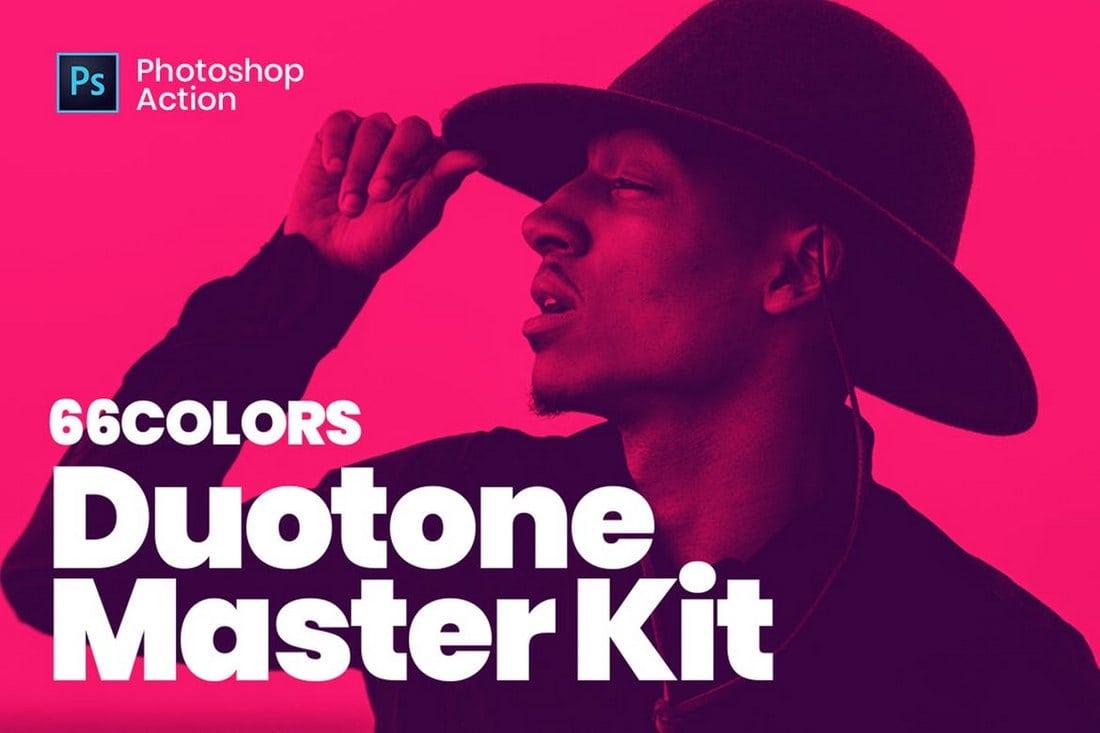 Duotone Master Kit - Photoshop Actions