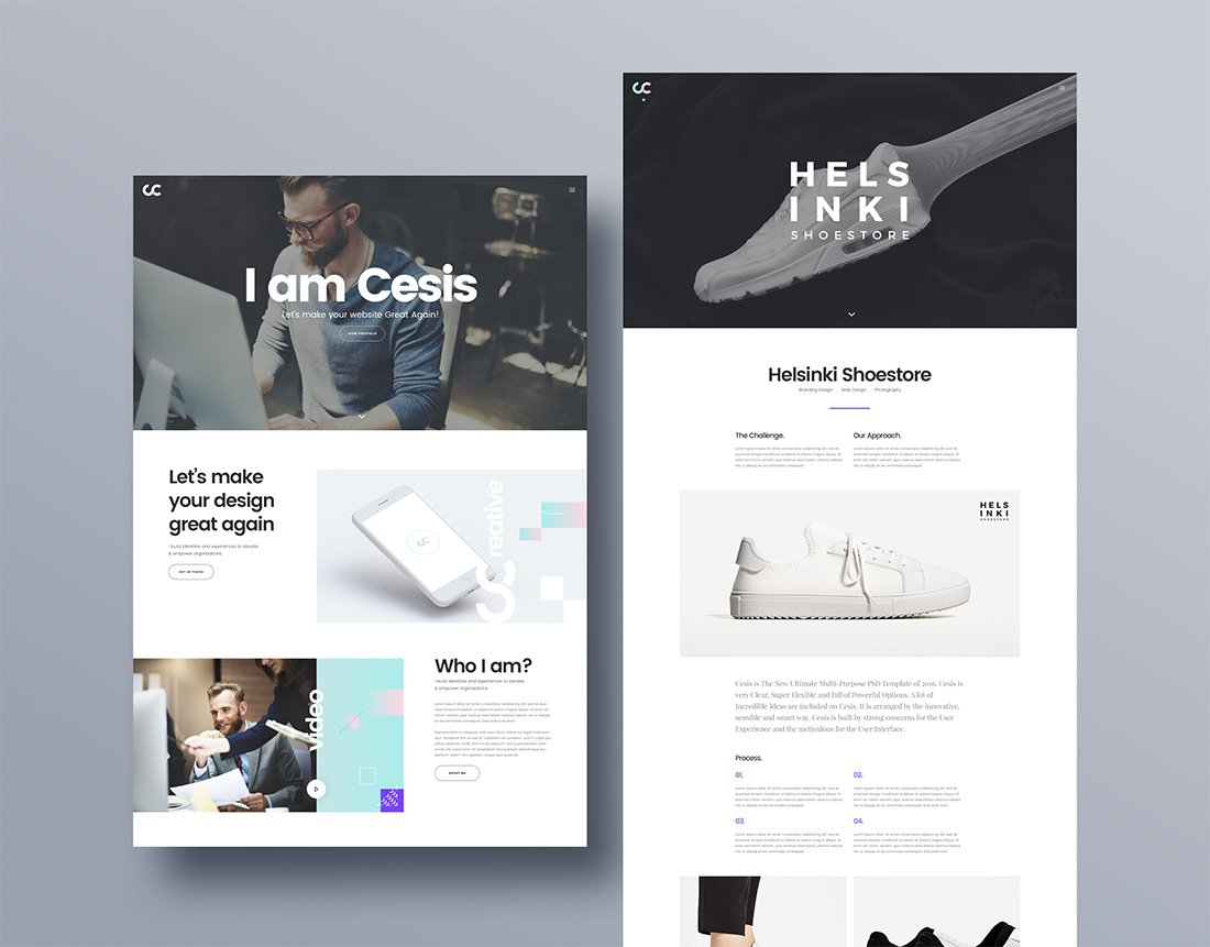 Cesis – Creative Agency PSD Web Template