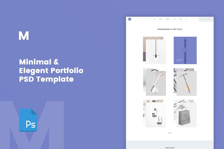 M - Minimal Portfolio PSD Template