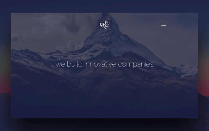 Maker – Free PSD Landing Page Template