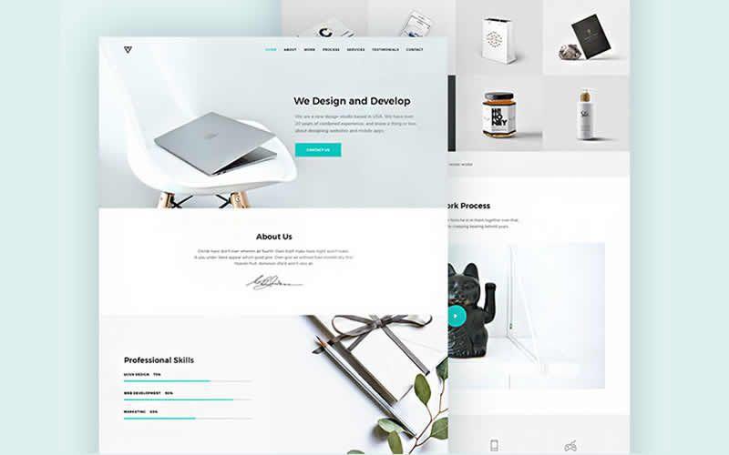 Piroll – Design Agency or Portfolio PSD Templates