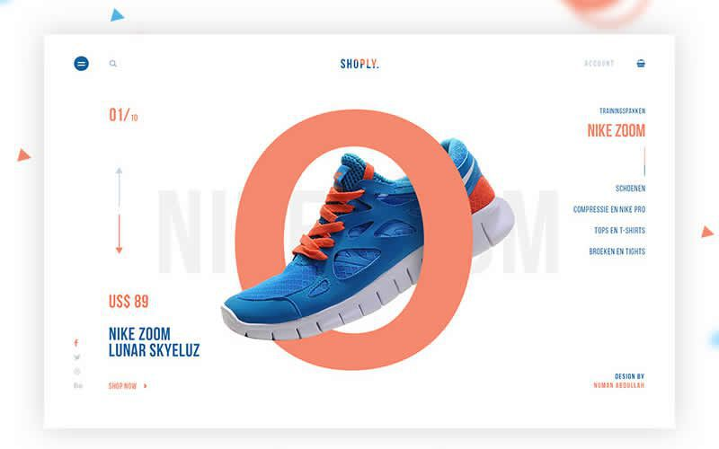 Shoply – Sports eCommerce Free Photoshop PSD Website Templates