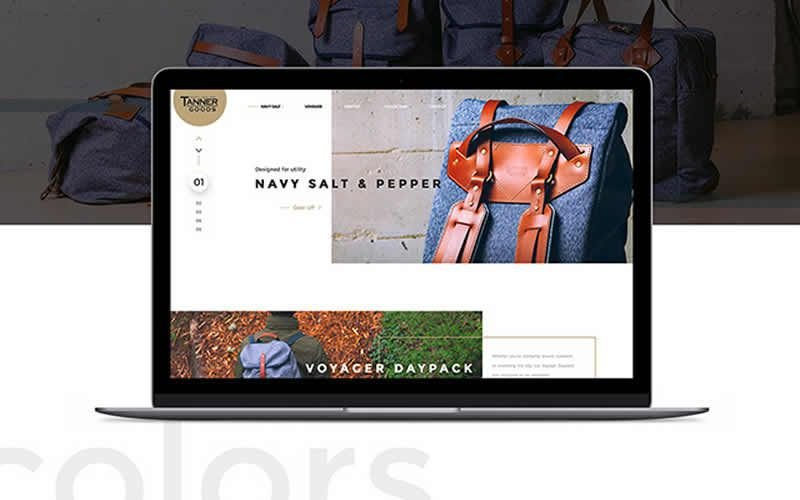 Tanner Collections – Stylish eCommerce Web Template