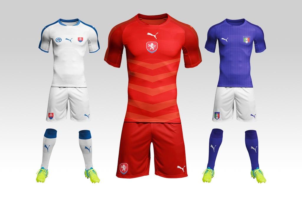Free Soccer Football Kit Mockup PSD