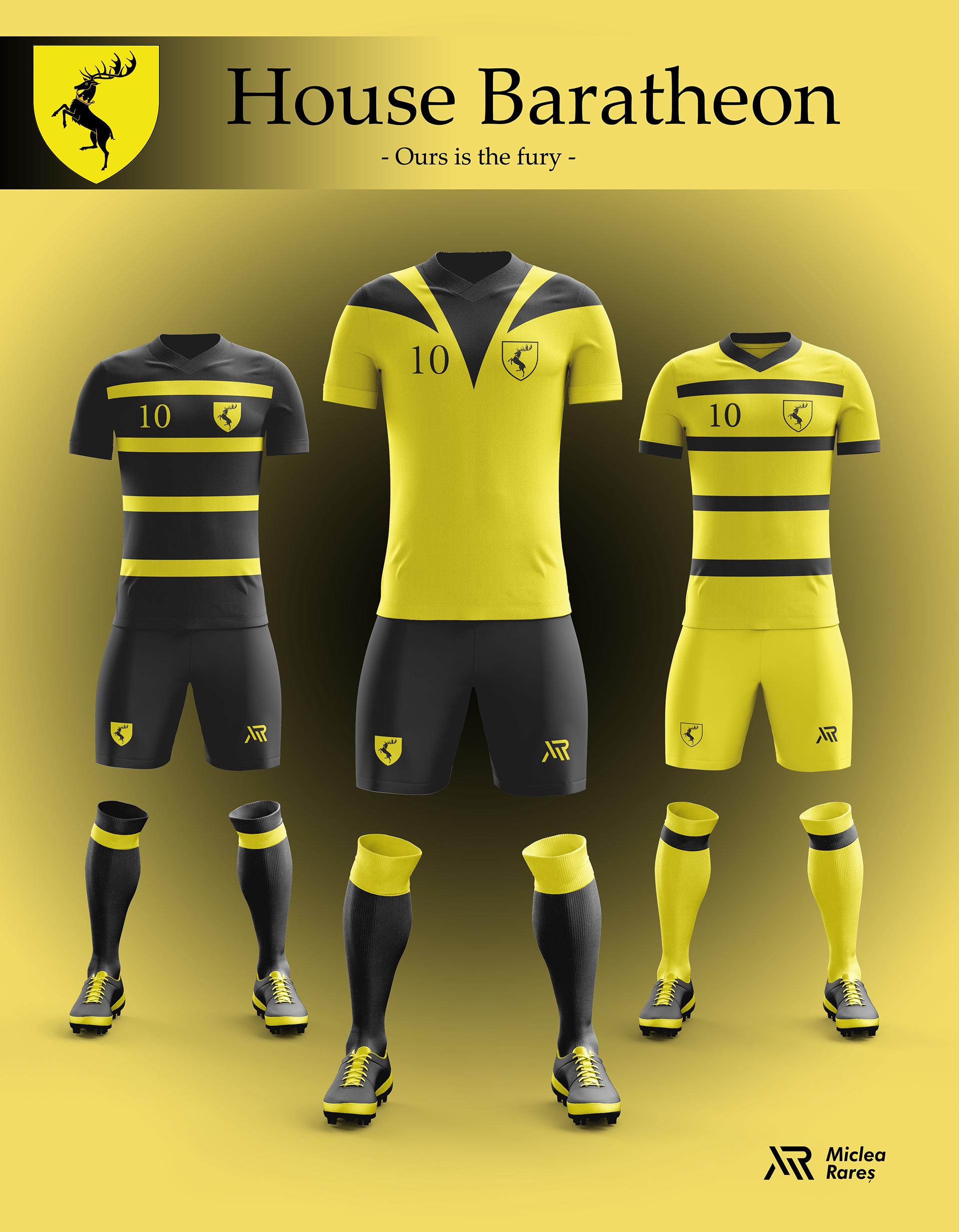 House Baratheon Football Kit