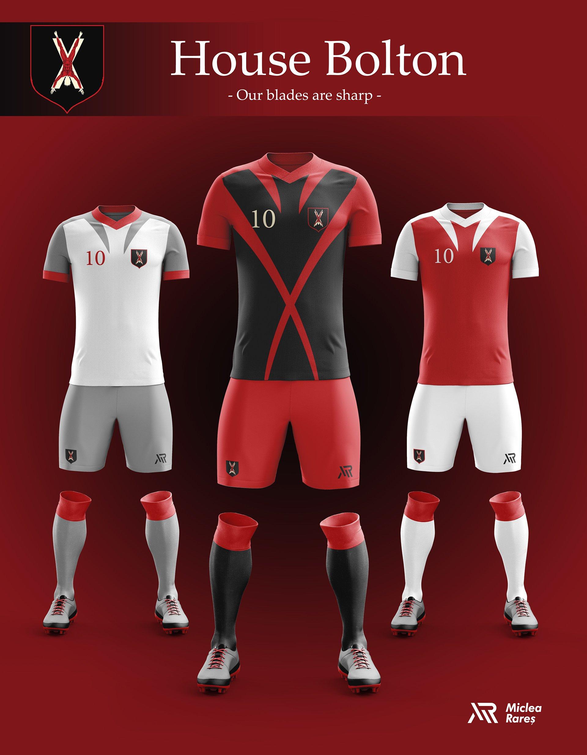 House Bolton Football Kit