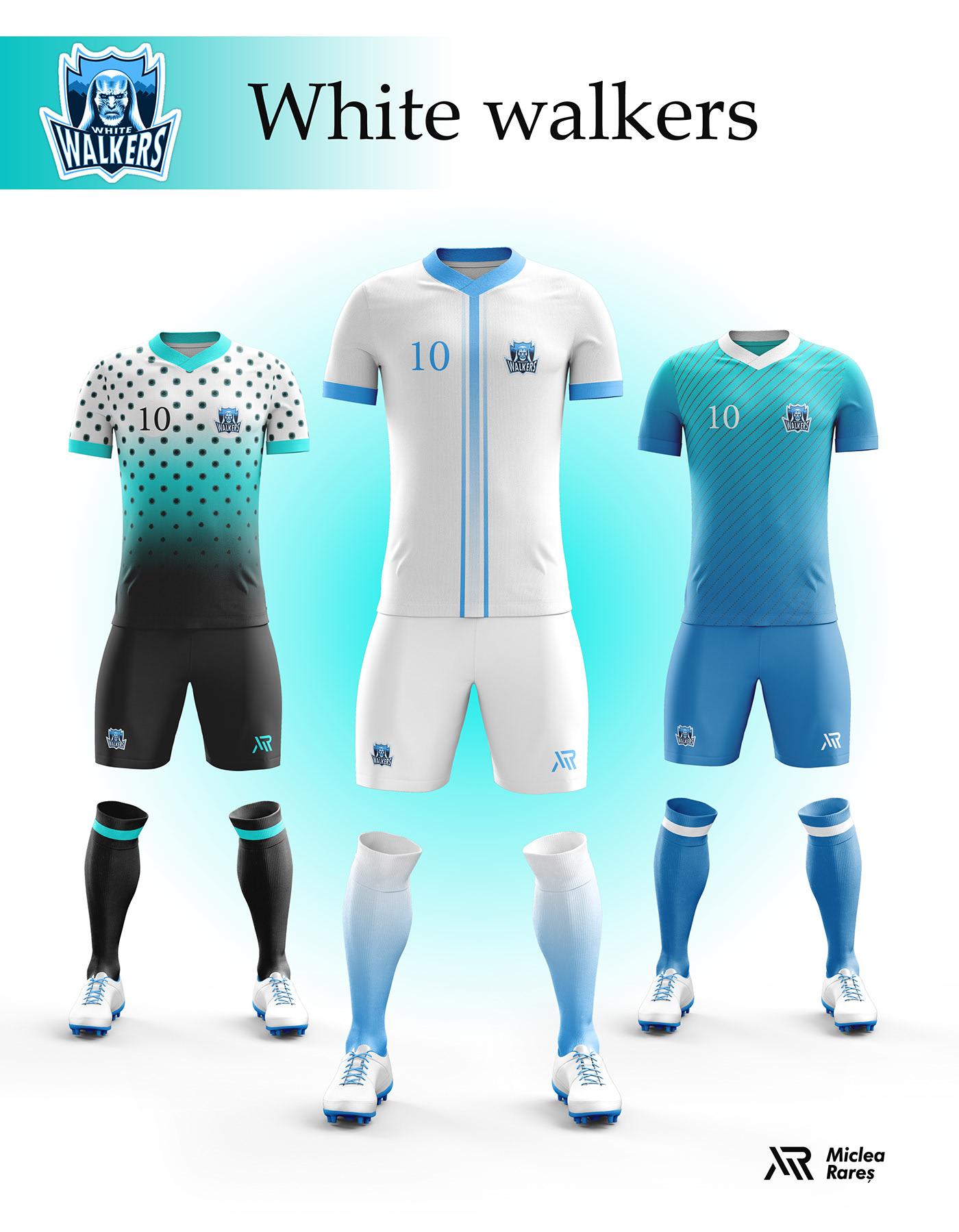 White Walkers Football Kit