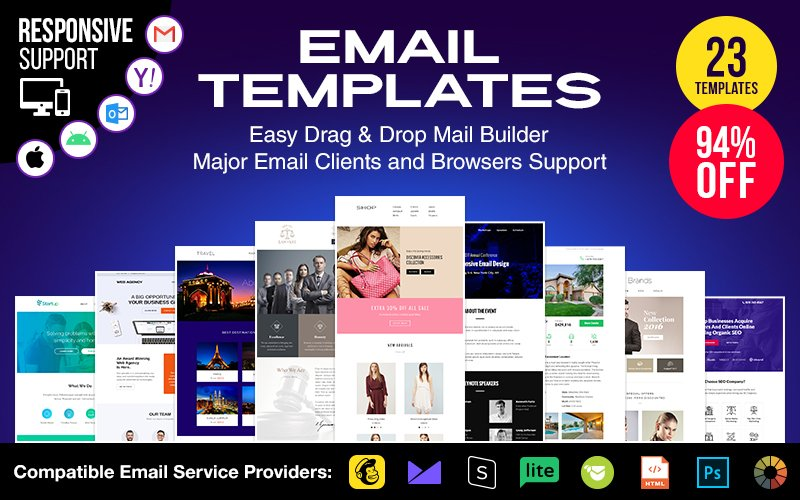 Responsiove Email Templates