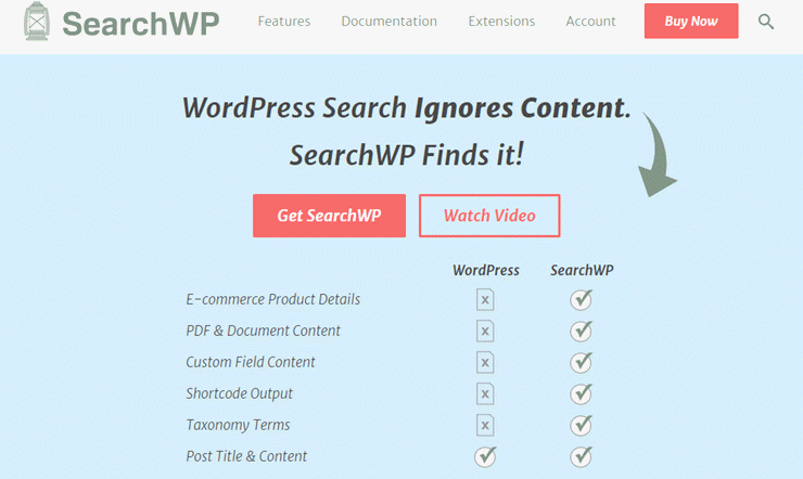 search wp