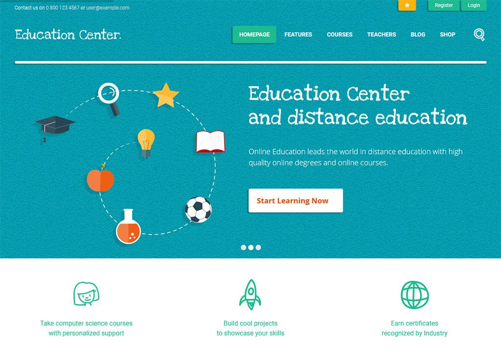 Education Center LearnDash Theme